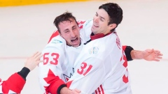 Brad Marchand and Carey Price