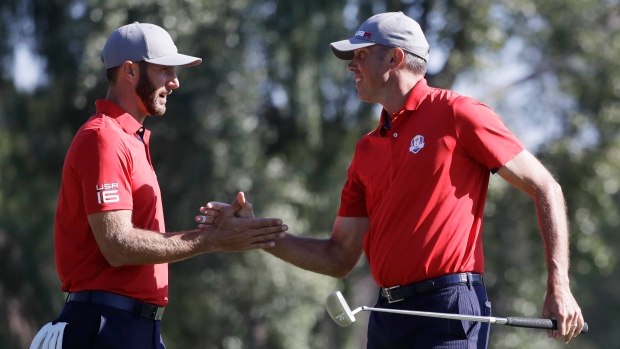 Dustin Johnson and Matt Kuchar