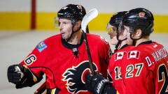 Troy Brouwer, Flames celebrate