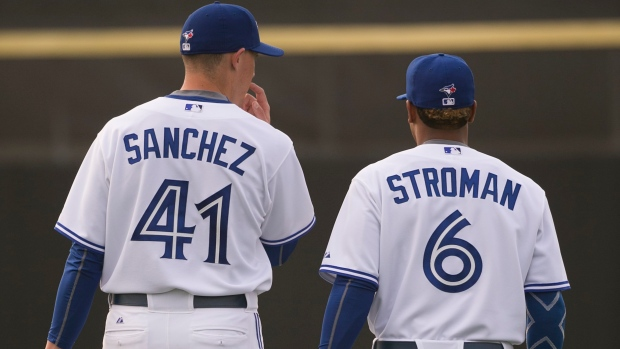 size 40 02bae b4cb2 Marcus Stroman, Aaron Sanchez to start for new clubs on ...