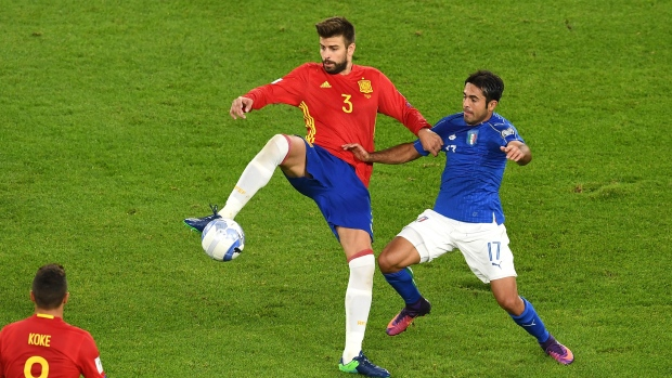 Pique says he will leave Spain national team after 2018 WCup