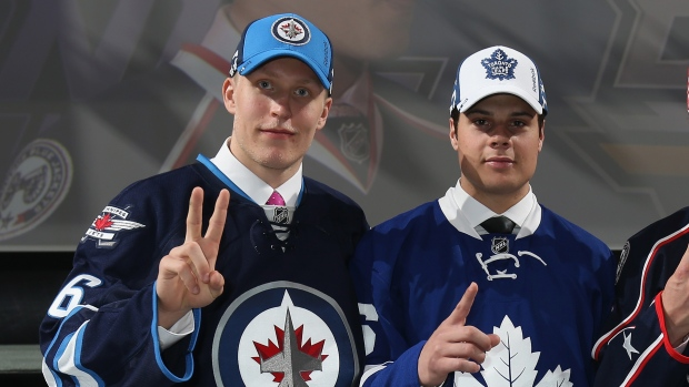 Patrik Laine and Auston Matthews
