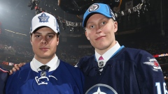Auston Matthews and Patrik Laine