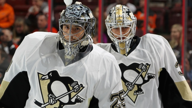 Marc-Andre Fleury and Matt Murray