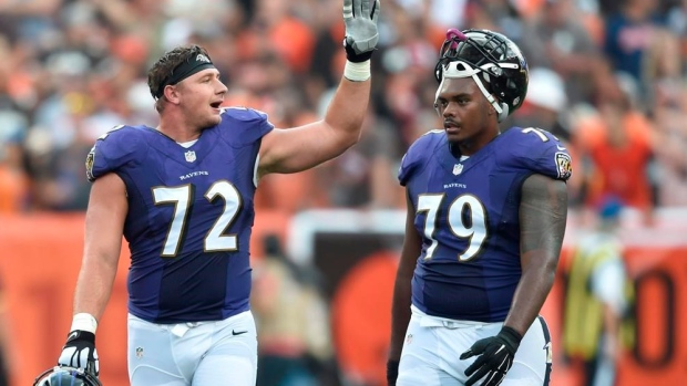 Ravens place OT Stanley (ankle) on season-ending IR
