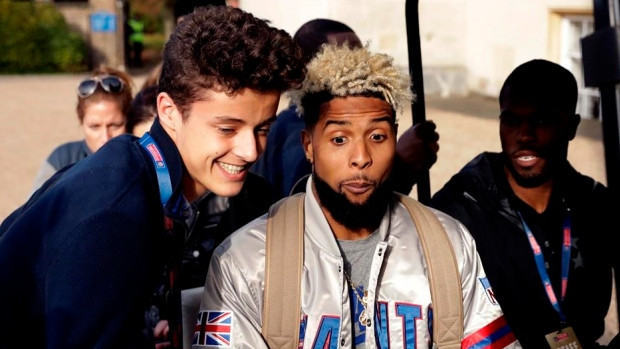 Odell Beckham Jr. (hip) expects to play Sunday against Rams