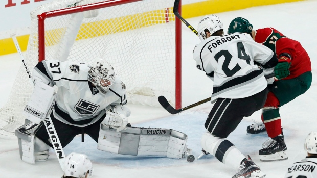 Jeff Zatkoff injures groin at morning skate for LA Kings