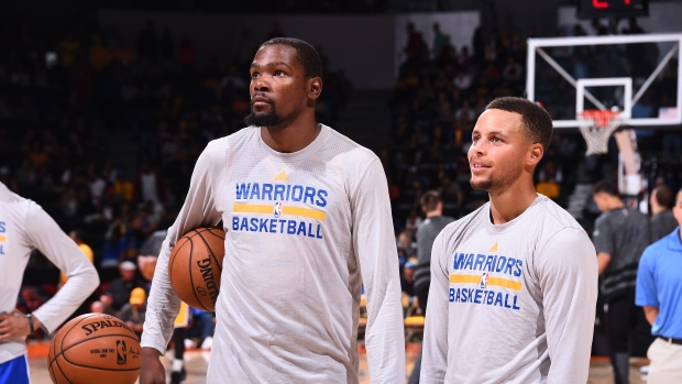 How will Durant fit with the Dubs? - TSN ca