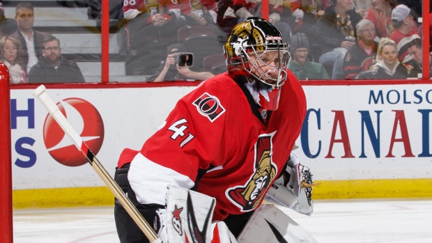 Ottawa's Anderson shuts out Oilers in emotional return