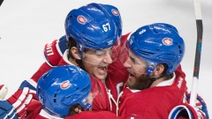 Max Pacioretty and Montreal Canadiens Celebrate