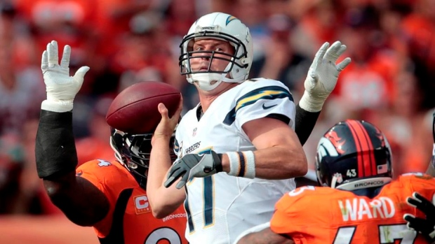 Broncos Pummel Rivers In Win Over Chargers Tsn Ca