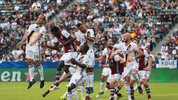 Van Damme-led LA Galaxy take MLS playoff edge over Colorado Rapids