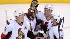 Craig Anderson, Senators celebrate