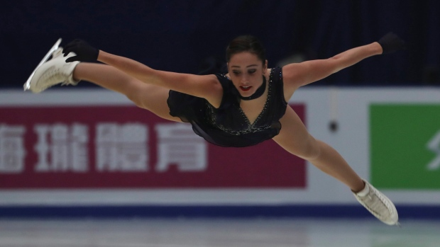 Radionova takes 1st place in free skate to win Cup of China