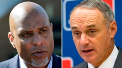 Tony Clark and Rob Manfred