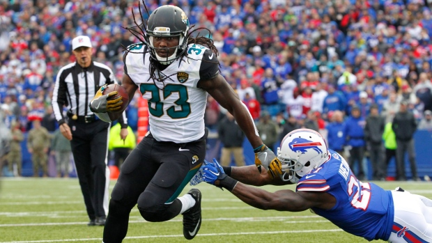 Chris Ivory joins Buffalo Bills after Jacksonville Jaguars release