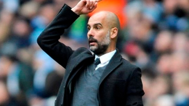 Manchester City manager Josep Guardiola