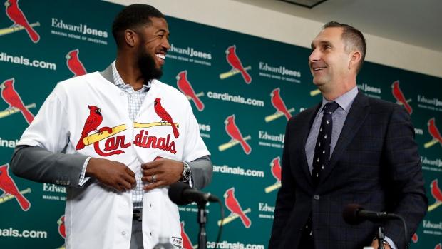 Louis; Cardinals nearing deal with center fielder