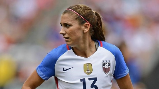Orlando Pride's Alex Morgan joins Olympique Lyonnais in France