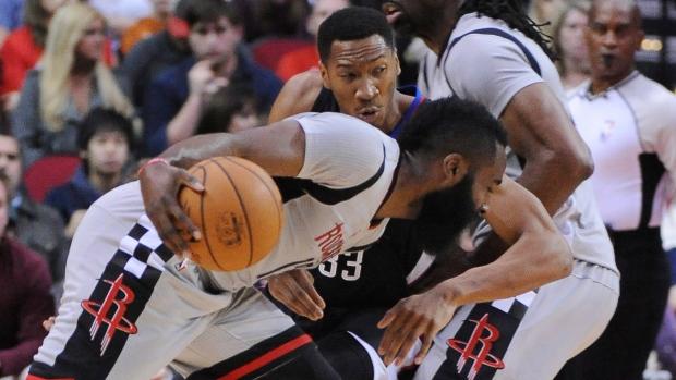 524bbb2446a Harden has triple-double as Rockets top Clippers - TSN.ca