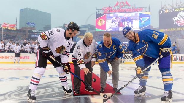 Hawks, Bruins to play in 2019 Winter Classic