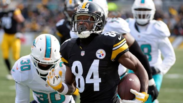 1e9b1e0a98add Report  Steelers WR Brown requests trade - TSN.ca