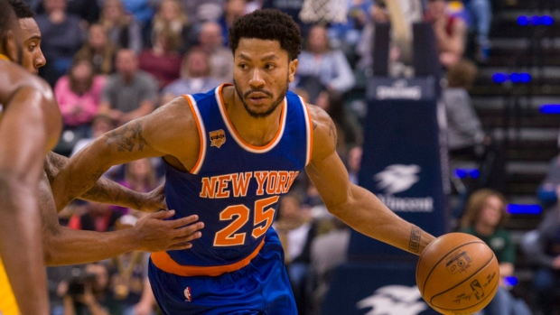Former MVP Derrick Rose meeting with Milwaukee Bucks