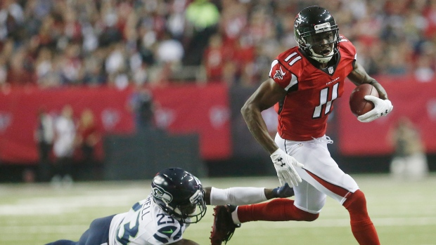 Falcons, Jones finalizing record deal
