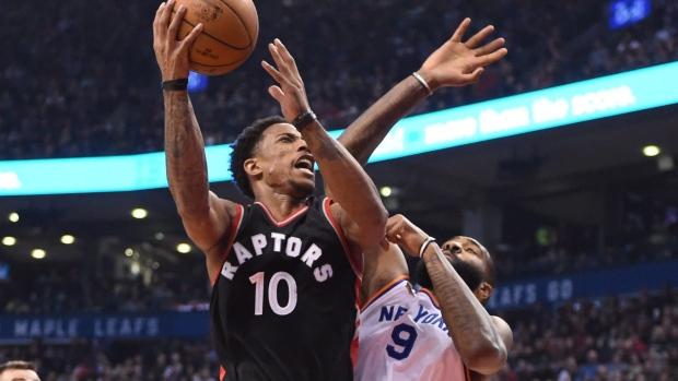 5089c4aa1e70 Raptors run over hapless Knicks - TSN.ca