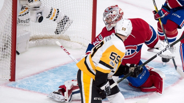 Attack falters again as Canadiens fall to Penguins - TSN.ca