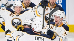 Zach Bogosian and Sabres Celebrate