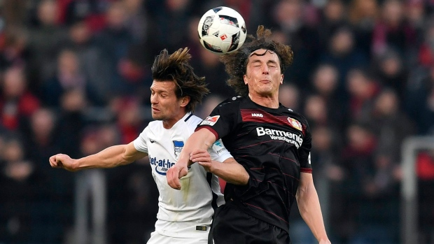 Hertha Berlin Stumbles In Loss To Leverkusen Article Tsn