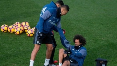 Marcelo helped from off the ground