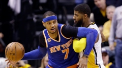 Carmelo Anthony and Paul George