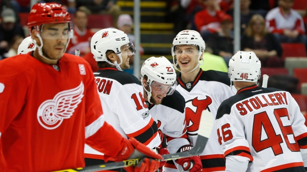 4ad3cec20aa Devils start fast and hold on to beat Red Wings - TSN.ca