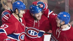 Montreal Canadiens celebrate