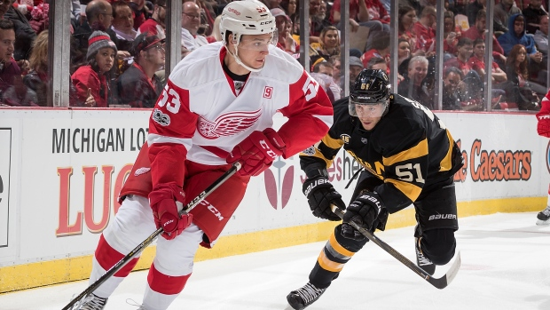 Leafs claim Wings' Alexey Marchenko off waivers