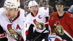 Phillips, Alfredsson and Chara