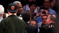 Charles Oakley arrested at MSG