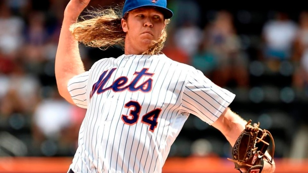Mets' Syndergaard misses start because of bicep discomfort