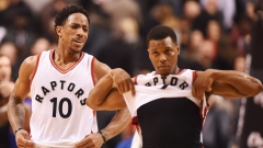 DeMar DeRozan and Kyle Lowry