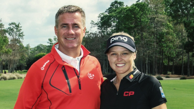 Brooke Henderson and Keith Creel