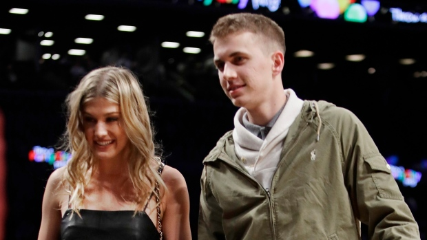 Eugenie Bouchard and John Goehrke