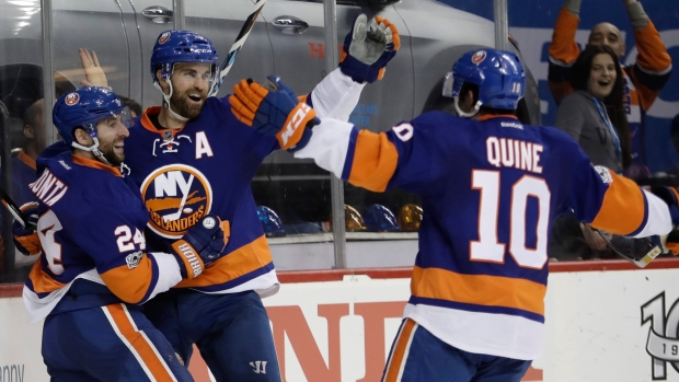 Gionta-ladd-and-quine-celebrate
