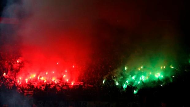 Saint-Etienne fans