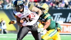 Brian Tyms, Hamilton Tigercats - Courtesy of CFL.ca