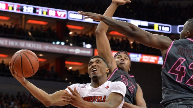 Louisville guard Donovan Mitchell staying in the NBA Draft
