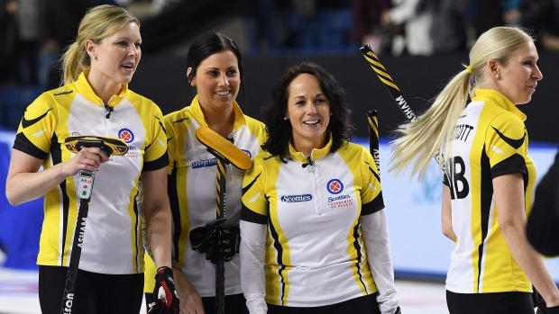 Team Manitoba at Scotties Tournament of Hearts