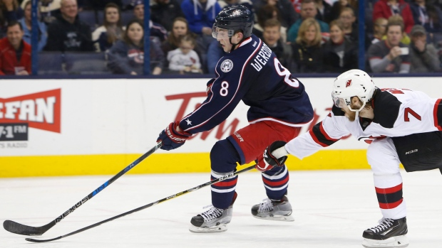 Blue Jackets Werenski is 'day to day' with injury - Article - TSN