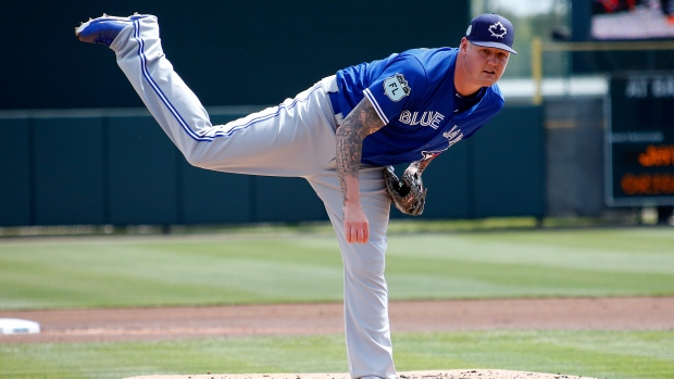 Latos to pitch for Blue Jays against Angels on Friday